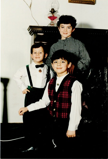 Look how cute they were ♥- Jonas brothers