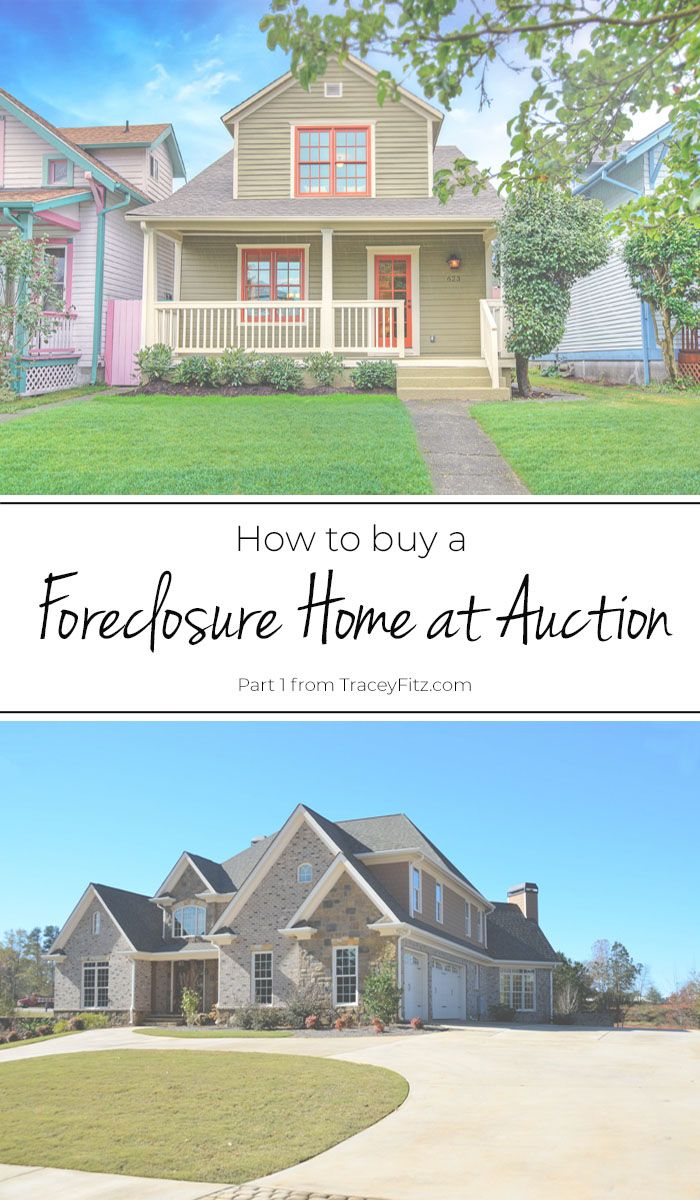 Foreclosure Auctions Buying A Foreclosure Real Estate Home Buying