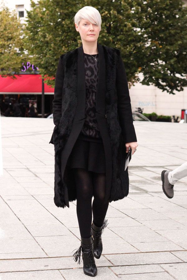 A History Of Women Who Love To Wear Black #refinery29  http://www.refinery29.com/all-black-outfits-women-history#slide10  Kate Lanphear Former style director at T Magazine, Lanphear surprised us all when she announced that she'll become the next editor-in-chief at Maxim. As long as she sticks to her longtime wardrobe of black skinnies, dramatic coats, and badass boots, we think we'll adjust to the shock.