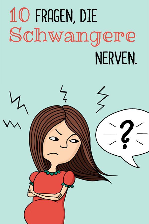 Was wird es denn?? Schwangere hören immer wieder dieselben Fragen. Hier die nervigsten Fragen plus passende Antwort.  ©Thinkstock