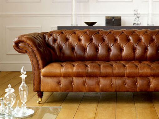 Design Field Notes- The Classic Chesterfield Sofa- Brown Leather