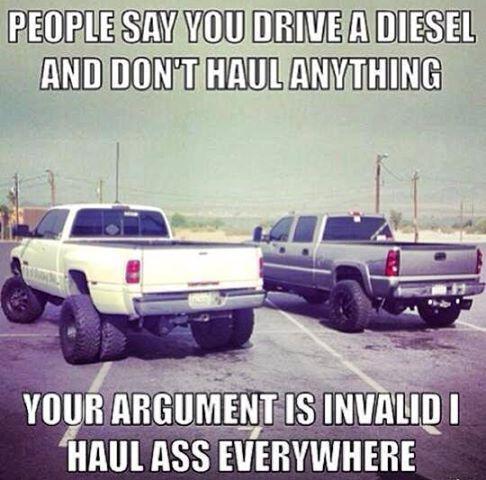 Lifted Dodge Ram Trucks I don't drive a diesel but I haul ass everywhere