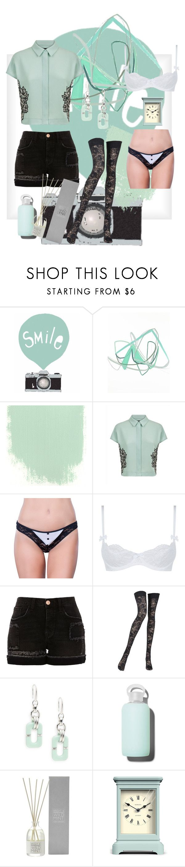 """Minty"" by nvrthewriter ❤ liked on Polyvore featuring Seventy Tree, Jaeger, Oh La La Cheri, L'Agent By Agent Provocateur, River Island, Pierre Mantoux, Diane Von Furstenberg, bkr, The White Company and Newgate"