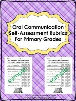 Oral Communication skills are used every day in our classrooms - but do students know what exactly is expected of them? Do you know what skills you're assessing and reporting on? Do students have a chance to assess themselves and get feedback on their speaking and listening skills?