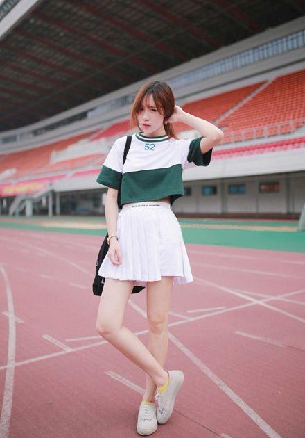 Harajuku camisa corta 2017 estilo coreano kawaii traje conjunto de las mujeres del verano gorra de béisbol del color del encanto camisa + falda plisada 2 unidades set mujeres en Conjuntos de las mujeres de Ropa y Accesorios de las mujeres en AliExpress.com   Alibaba Group