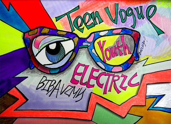 Electric YOUTH.Teen Vogue.BIBAVIMH