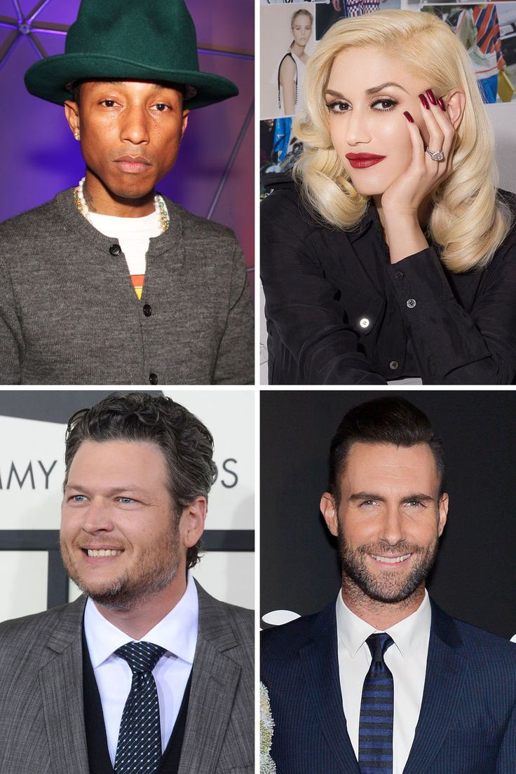 NBC+the+Voice+2014+pharrell+williams+&+gwen+stefani   It's Official: Gwen Stefani Joins 'The Voice'
