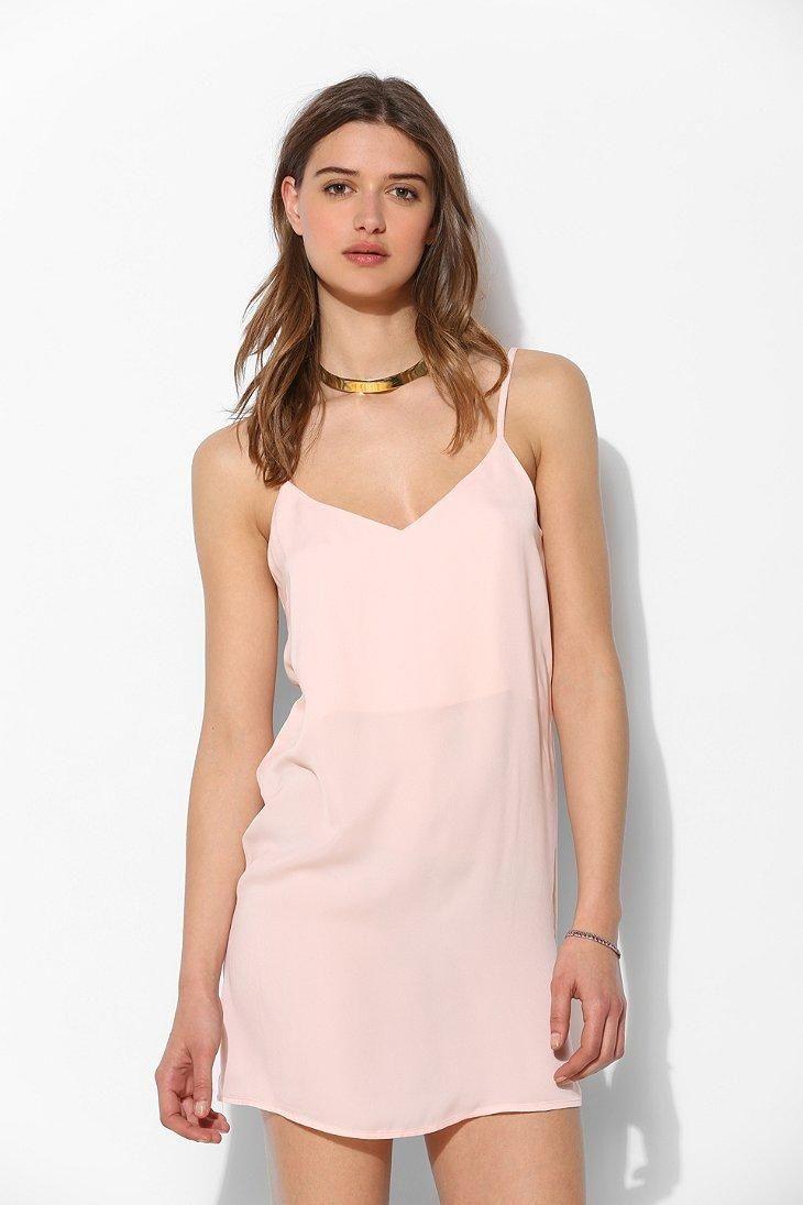 Galerry slip dress v neck