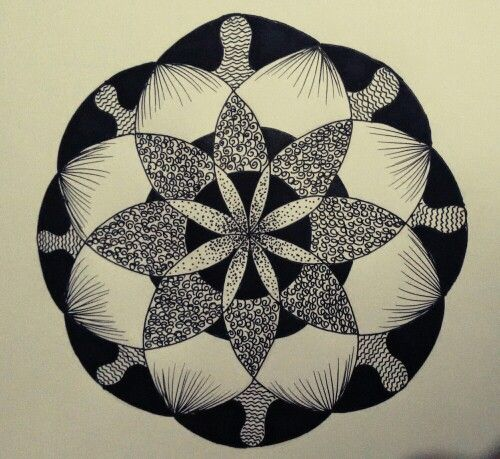 2nd mandala....aren't we all made of stardust....