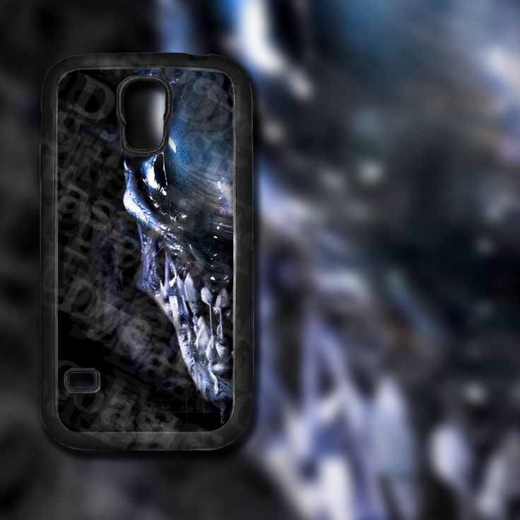 Xenomorph Alien on Samsung Galaxy S5 Black Rubber Silicone Case by EastCoastDyeSub on Etsy https://www.etsy.com/listing/195575577/xenomorph-alien-on-samsung-galaxy-s5