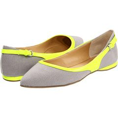 Nine West - SuperFly: Shoes Flats, Flats Superfli, Canvas Flats, Nine West Shoes, Dark Grey Yellow, Dressy Shoes, Superfli Dark, Flats Shoes, West Superfli
