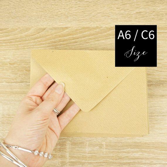 Kraft Envelopes, Kraft Envelopes,  C6 Kraft Envelopes, C5 Kraft Envelopes, Brown Envelopes, Flecked Envelopes, Vintage Envelopes,Envelope