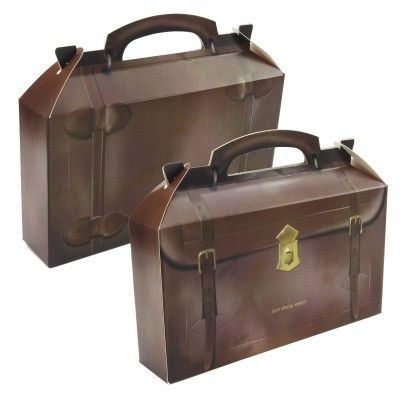 Cardboard briefcase: Party Favors, Cardboard Boxes, Empty Favor, Special Forces, Parties, Favor Boxes, Box Bag, Forces Empty, Bags