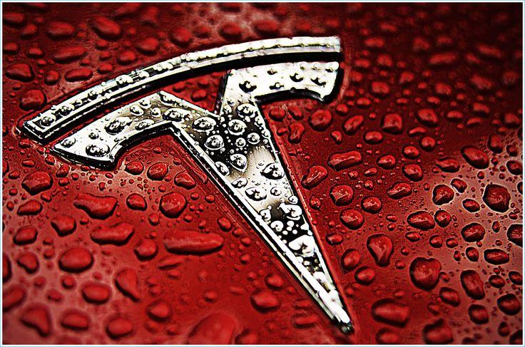 La couleur du Logo de Tesla Motors