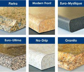 Look the design of laminate countertops