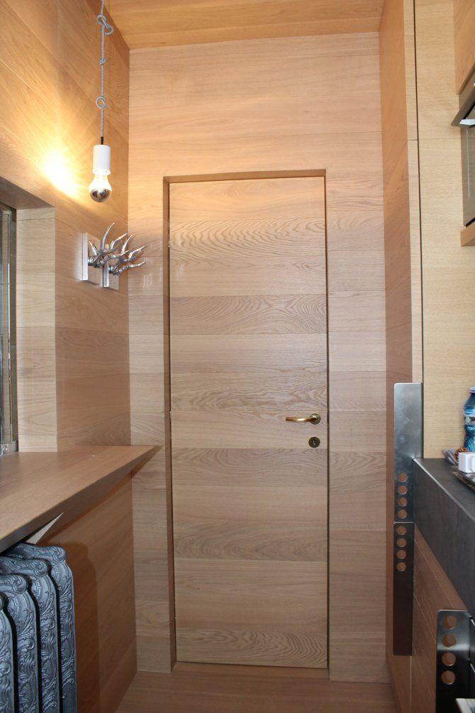 Appartamento a Foppolo - progetto di interior design - particolare legno cucina