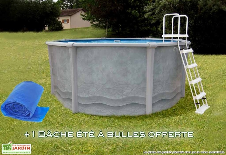 25 beste idee n over piscine acier op pinterest cloture for Cloture pour piscine hors sol