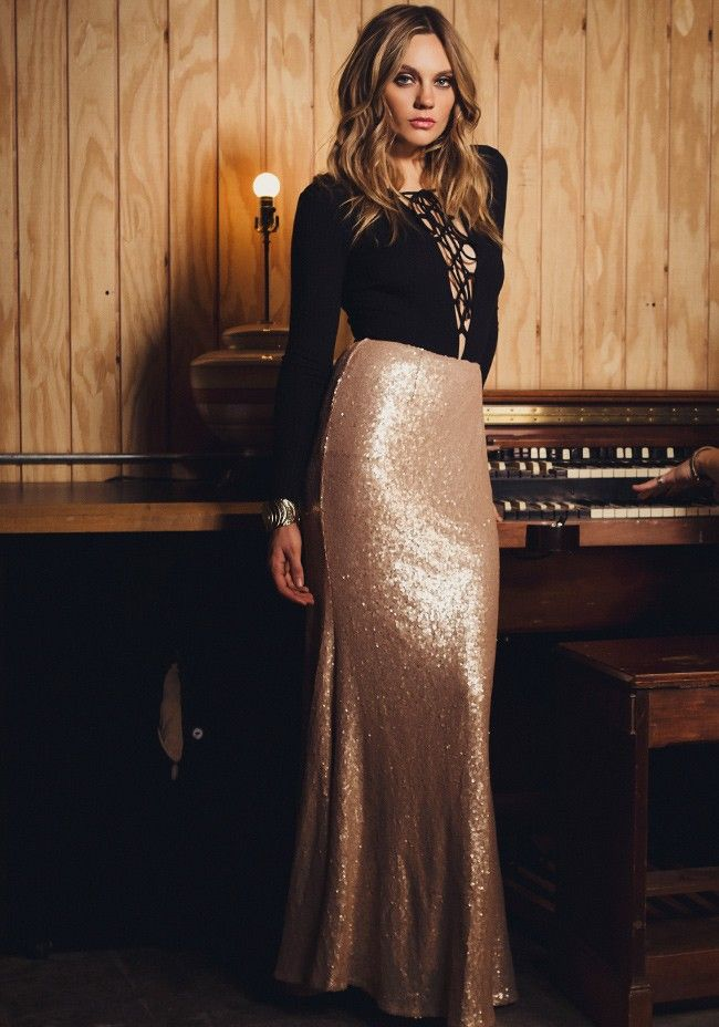 Toast To Us Sequin Maxi Skirt                                                                                                                                                                                 More