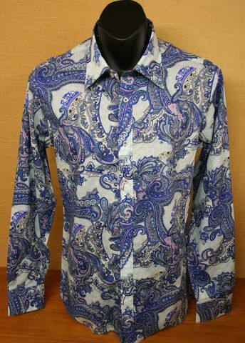 David Smith LS Casual Shirt Sky DS2110S