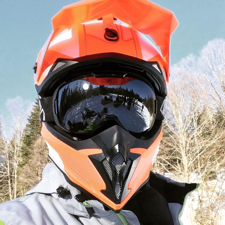 Couldn't find a flashier helmet CKX TX696