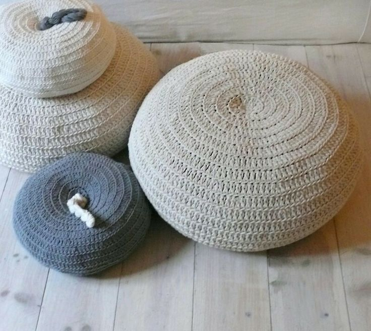 The 33 best Puff trapillo images on Pinterest Crochet pillow