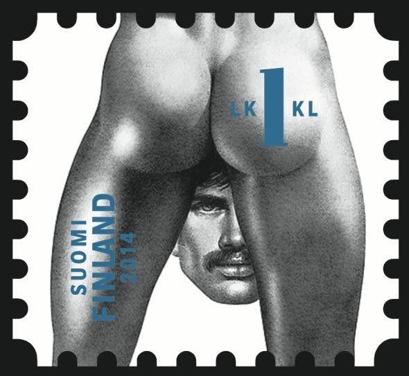 Courtesy of Itella Posti Oy; original image from Tom of Finland Foundation