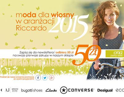 "Check out new work on my @Behance portfolio: ""Spring in Riccardo.pl "" http://on.be.net/1EEHL4p"