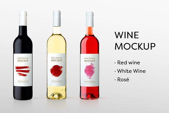 Download Wine Bottles Mockup Bottle Mockup Wine Bottle Bottle