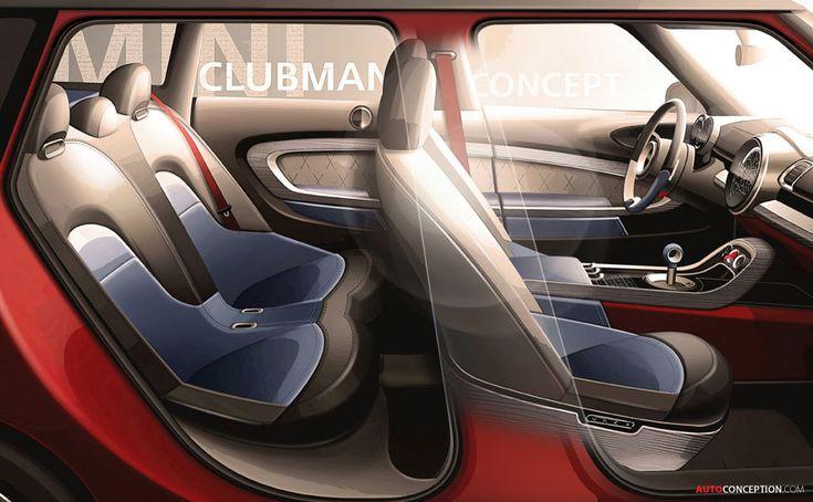 New MINI Concept Previews Next-Generation Clubman - AutoConception.com