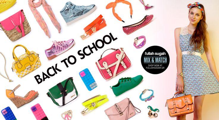 Mix & Match | Back to school | http://fullahsugah.gr/ #MixAndMatch #FullahSugah
