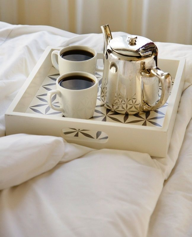 ☕ Coffee in bed ☕