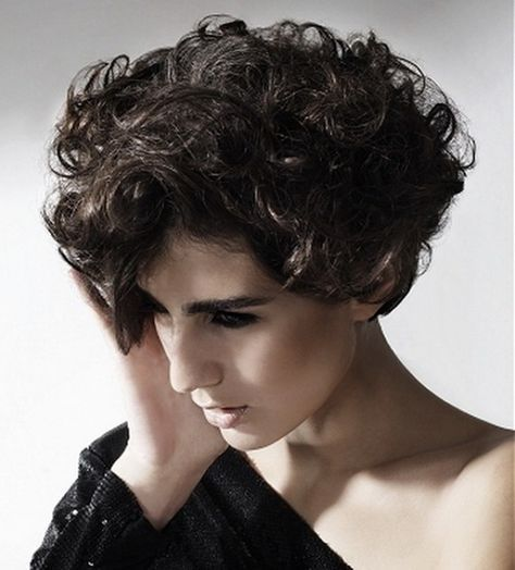The Girlish Short Curly Hair Styles 2013 for Women: 2013 Curly Hairstyles Short ~ findmyhairstyle.com Curly Hairstyles Inspiration