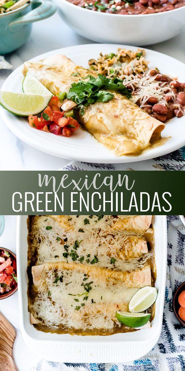 Homemade mexican green enchilada sauce