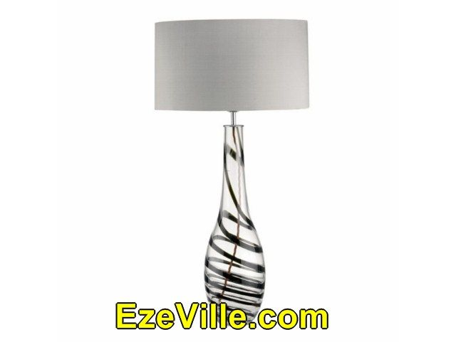 Gorgeous  Table Lamps With Black Shades001