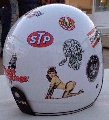 how to put on motorcycle helmet
