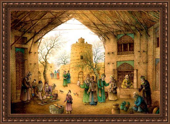 Persian Art, Original Iranian artwork