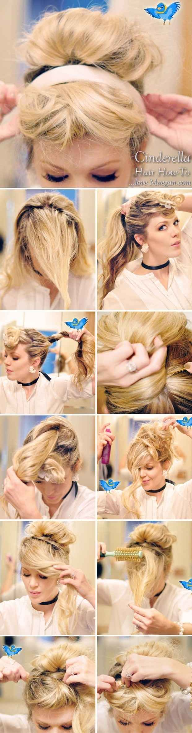 Easy How-To Disney Princess Hair