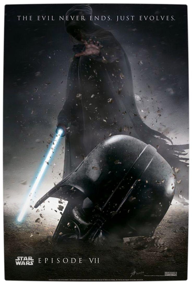 ¡Primera imagen oficial de Star Wars 7! + Increíbles Poste