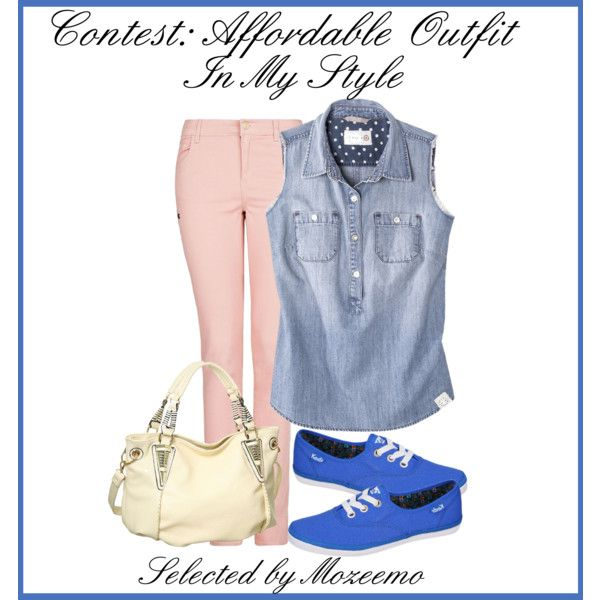 """""""Affordable Outfit In My Style"""" by mozeemo on Polyvore"""
