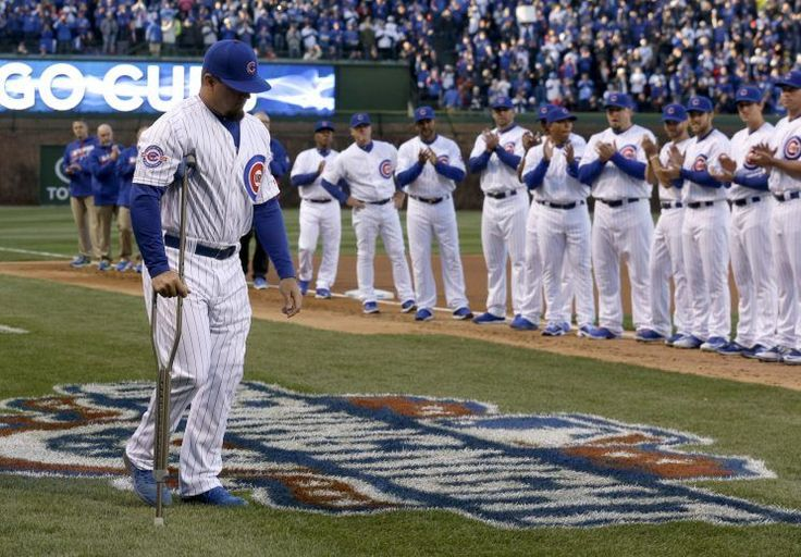 The celebration that erupted in the city after the Chicago Cubs clinched their first World Series appearance was just as epic as you might expect.  Roughly 1,600 miles away, Kyle Schwarber was just finishing up his first game in the Arizona Fall League.  Schwarber was expected to play a key role with