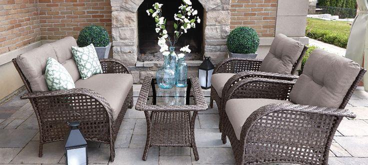 Buy Patio Furniture Online Walmart Canada Patio Ideas Pinterest Canada Outdoor Living Patios And Outdoor Living