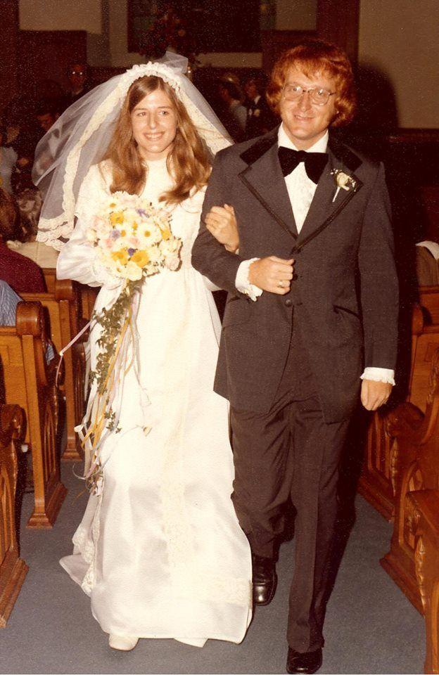 1974 The Year We Got Married Vintage Weddings