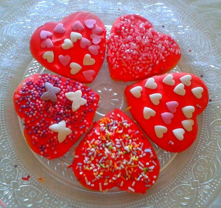 Dulces Sueños: Galletas de San Valentín