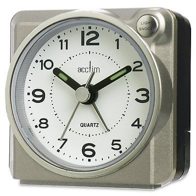 Acctim 14457 casa compact bold #traditional travel #alarm clock snooze & #light,  View more on the LINK: 	http://www.zeppy.io/product/gb/2/271175796189/