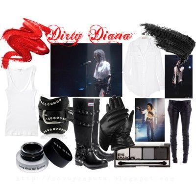 Michael Jackson Inspired Looks: Dirty Diana