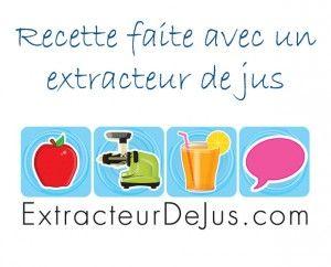 Recettes extracteur de jus - Jus de fruit fait avec un extracteur de jus