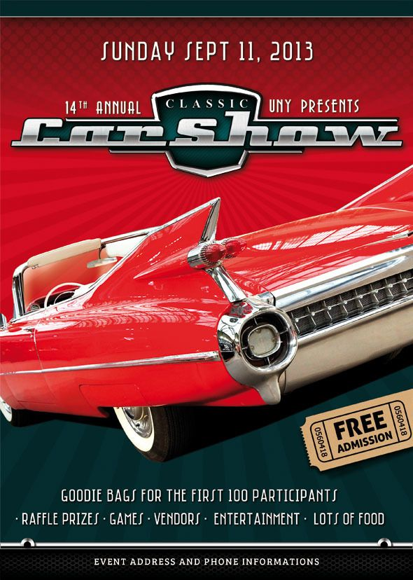 9 best car show flyer images on pinterest