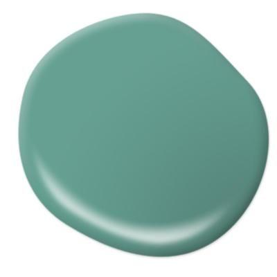 BEHR Premium Plus Ultra 1 gal. #T17-15 Jade Dragon Semi-Gloss Enamel Exterior Paint-585401 - The Home Depot