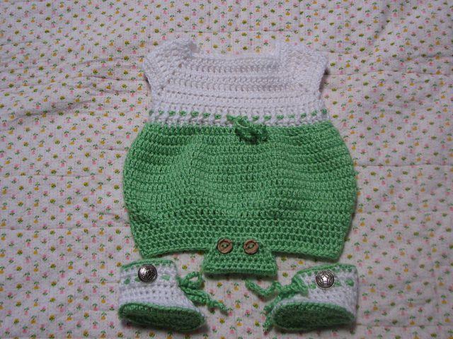 Ravelry: Newborn Romper pattern by Joanne Holt free ...