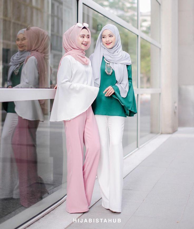 Kiri atau kanan?  #hijabistamelatitop